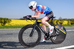 Jensen saved his best 10-mile TT time of the season to qualify for the national championships. Picture: Richard Howes Photography EMN-191107-112059002