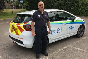 Chris Poore, Horsham District Council neighbourhood warden for Storrington & Sullington SUS-190715-133942001