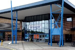 The Triangle leisure centre in Burgess Hill. Photo by Steve Robards