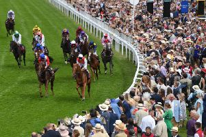 The Ladies' Day crowd at Goodwood was 22,002 / Picture: Getty Images