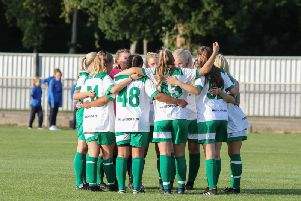 A pre-season huddle for Chi City Ladies - who kick off their new season this week