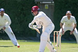 Joe Ludlow hit a century for Cuckfield as they secured safety