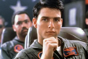 Tom Cruise in Top Gun, one of the films being screened