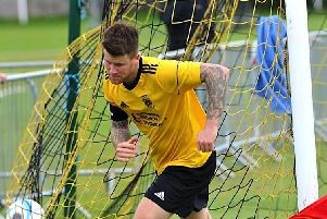 George Gaskin got the winner for Littlehampton against Worthing United. Picture by Stephen Goodger