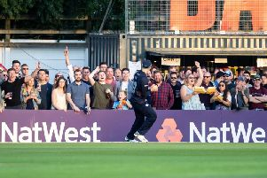 Tom Sole showed a safe pair of hands for the Steelbacks against Worcestershire (picture: Kirsty Edmonds)