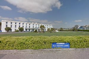 Plans for homes to the right of the Royal Norfolk Hotel where the overgrown vegitation is have been refused by Arun District Council (photo from Google Maps Street View)