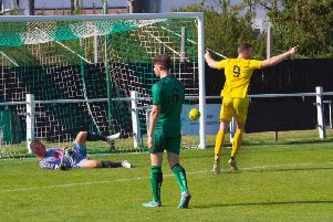 A goal for Jimmy Wild as City get the better of Cray / Picture by Neil Holmes