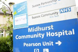 DM16119629a.jpg Sussex NHS Community Trust launches recruitment drive in Midhurst for nurses so Community Hospital can be reopened. Photo by Derek Martin SUS-160525-154519008