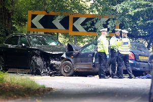 Police say that a man died in a road crash in Horsham on September 12 SUS-190913-105136001