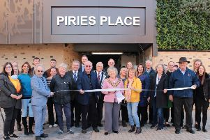 The official opening of Piries Place car park