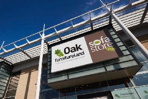 Oak Furnitureland will open a new store at County Oak Retail Park, Crawley tomorrow (October 12)