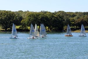 Late Trophy racing at Dell Quay