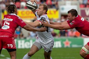 Will Addison comes in for his first start of the season as Ulster face Cardiff on Friday night.
