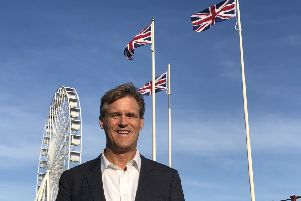 Gordon Hoff has been selected by the Brexit Party as its prospective parliamentary candidate for Worthing West