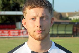 Pagham's Jake Heryet / Picture: Roger Smith