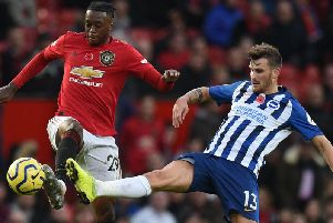 Manchester United played well as they beat Brighton and Hove Albion 3-1 at Old Trafford last Sunday