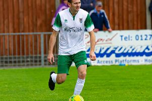 James Crane helped Bognor to a creditable point at Hornchurch / Picture by Tommy McMillan