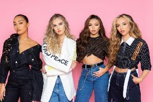 Little Mix. Photograph: Cuffe and Taylor