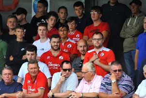 Crawley Town fans