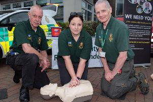 Community first responders provide voluntary support for SECAmb