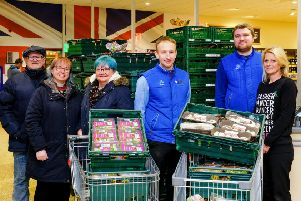 Local good causes have linked with Aldi in Rustington to help surplus food gets to the people who need it most