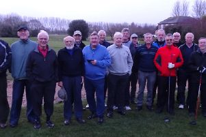 Chichester veterans gather for Colin Westwood's drive-in