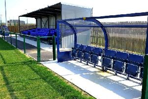 Broadbridge Heath's new football ground. Picture by Steve Robards