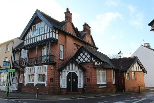 Flats above Henfield Funeral Services on the site of the  former Old Bell pub are up for sale