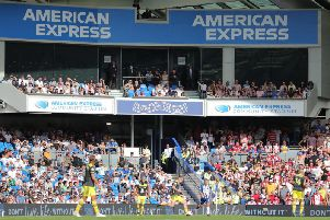 Brighton and Hove Albion's home ground the Amex stadium