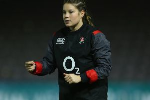 Jess Breach is ready to star for England's Red Roses / Picture: Getty