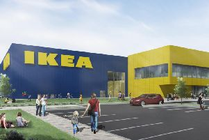 An artist's impression of the IKEA