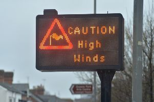 The Met Office has issued an amber warning
