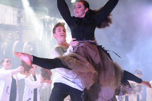 Durrington High School dancers are flying high after winning a place in the final of Dance Live!
