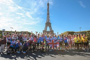 The London to Paris challenge