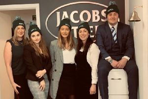 The Jacobs Steel team for the NSPCC abseil