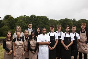 The team at Heritage Sussex. Photo by Nick Townsend