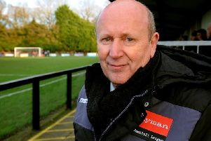 Burgess Hill Town chairman Kevin Newell