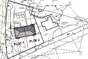 Layout plan of the proposed development