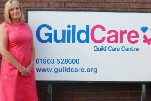 Antonia Hopkins, chairman of the board of trustees at Worthing-based charity Guild Care