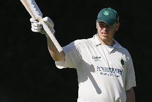 Bedhampton all-rounder Harry Hovey. Picture: Neil Marshall