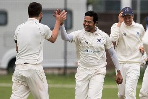 Vikram Dawson hit 40 and then took one for 15 in Portsmouth's victory over Andover