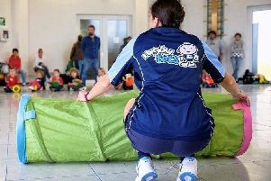 Rugbytots is a rugby play programme for younger children