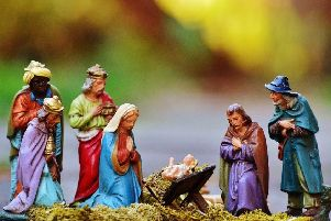 Does the lack of traditional Christmas cards show people are turning against Christianity?