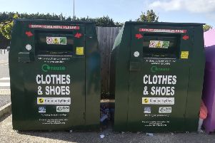 These are the green recycling bins to look out for - all the money rased is ploughed back into Worthing groups