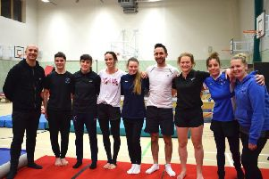 Adults encouraged to get active at Worthing Gymnastics Club