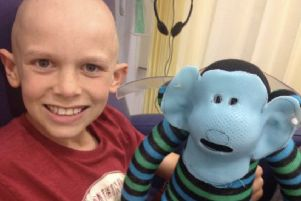 Jack's mum said he never complained once and maintained a 'huge smile' throughout his treatment SUS-190131-112441001