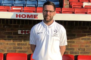 Matt Crabb came on a substitute for Eastbourne Borough