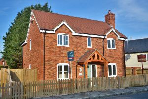 This brand new three/ four bedroom home in Billingshurst is on the market for a guide price of �595,000 with Comyn and James