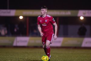 Josh Gould has been handed a first team chance in recent weeks. Picture: Marcus Hoare