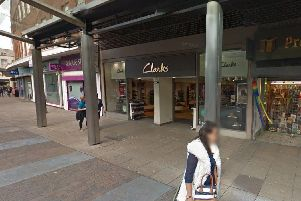Clarks in Arundel Street Portsmouth. Picture from Google Maps.